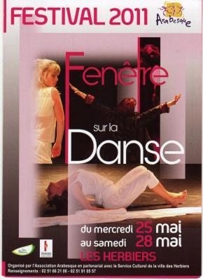 Arabesque Fenetre sur la danse 2011