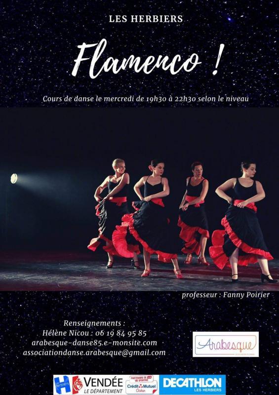 Affiche flamenco